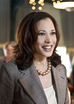 PHOTO COURTESY OF KAMALA HARRIS - Harris released this photo, but not the files on clergy sexual abuse.