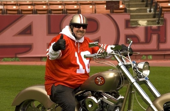 Have a cup of joe with 49ers 'Harleyman' Steve Mahoney before the game this Sunday - TOM TRACY