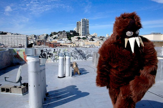 """Have you seen this """"man"""" around S.F.?"""