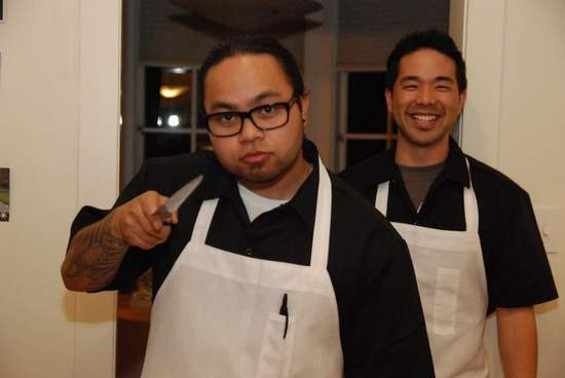 HayaHon's Johnny Honda (left) and Mark Hayashida. - MARISSA CARTER PHOTOGRAPHY