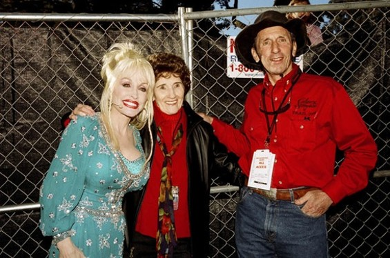 Hazel Dickens with Dolly Parton and Warren Hellman - PROPHEAD/ZOOOMR