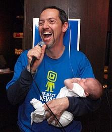 He loves babies, too!