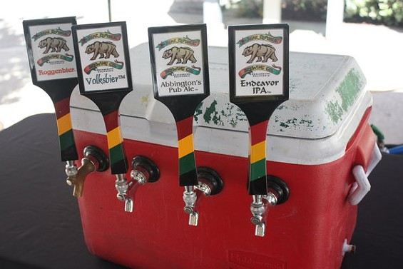 Healdsburg's Bear Republic Brewing is entering 23 of its brews in this month's Great American Beer Festival in Denver. - BRIAN YAEGER