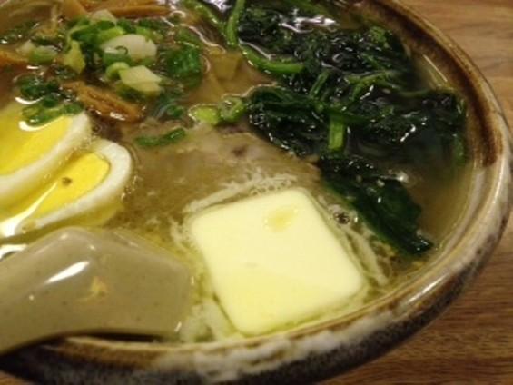 Healthy Japanese cooking: Sapporo-Ya's butter ramen. - TAMARA PALMER