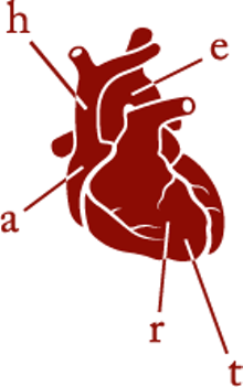 Heart's logo: Goodbye Hello Kitty, hello stumpy aorta.