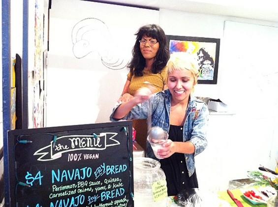 Hella Vegan Eats Sylvee and Tiffany Esquivel.