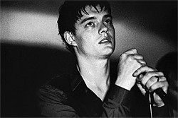 DEAN ROGERS - He's lost control: Sam Riley as Joy Division's Ian Curtis.
