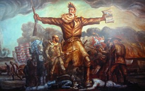 Hey, how about John Brown for mayor of San Francisco? His progressive credentials are to die for.