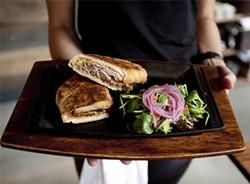 JEN SISKA - Hey, isn't that a Cuban on your platter?