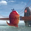 Aliens and Monsters to Destroy San Francisco, Golden Gate Bridge