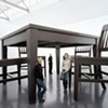 High Chairs: Giant Furniture Evokes the Child Within