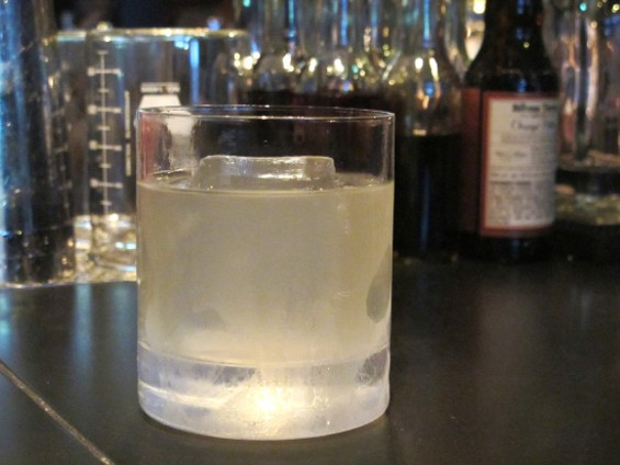 High impact, low proof Spotlight Cocktail - LOU BUSTAMANTE