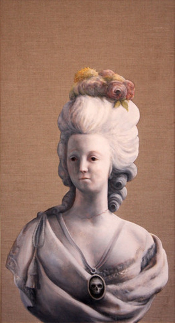 MARIE ANTOINETTE: THE RED NECKLACE BY BRADLEY PLATZ