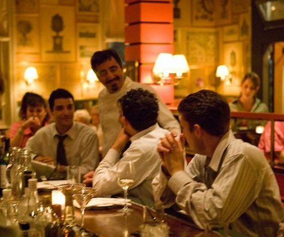 Hoss Zaré , in his semi-eponymous restaurant. - ZARÉ AT FLY TRAP