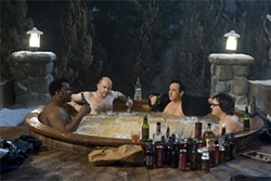 Hot Tub Time Machine pays homage to the disposability of '80s entertainment.
