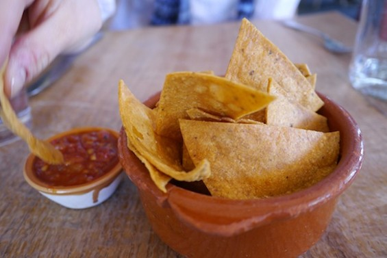 House-made tortilla chips and salsa