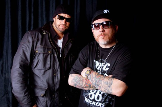 House of Pain's Danny Boy and Everlast are at the Fillmore tonight.