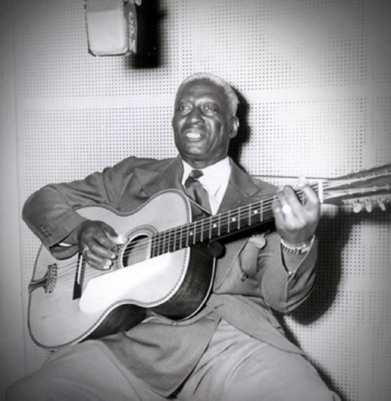 Huddie Ledbetter: Convicted murderer, children's singer. - WWW.LEADBELLY.ORG/