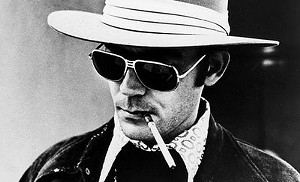 "Hunter S. Thompson makes ""Hunter"" a pretty cool name"