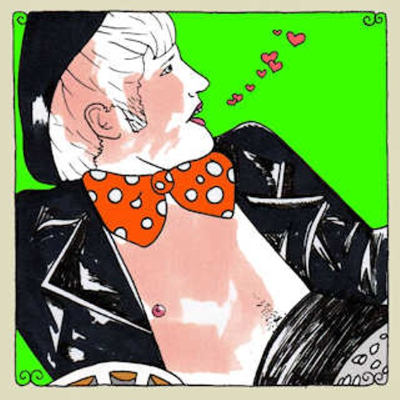 Hunx and His Punx' Daytrotter illustration by Johnnie Cluney