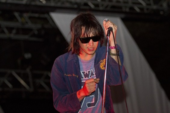 """I don't know who these guys are, but they're fucking wasted"" -- The Strokes' Julian Casablancas at Outside Lands, discussing himself - CHRISTOPHER VICTORIO"