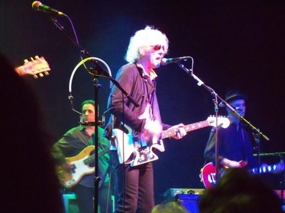 Ian Hunter and the Rant Band at the Fillmore Friday. - ROMANA MACHADO