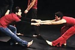 KEN  FRIEDMAN - Ibrahim Miari and Nora El Samahy in - Blood Relative.
