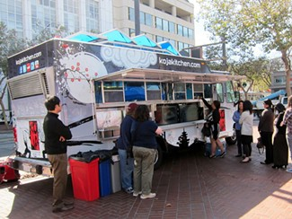 If AB 1678 passes, food trucks won't be allowed to park within three blocks of a school. - LUIS CHONG