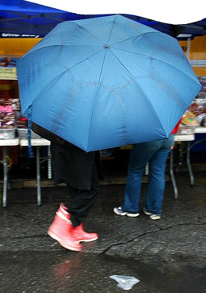If only robberies were as rare as rain in San Francisco - FLICKR/ J O S H