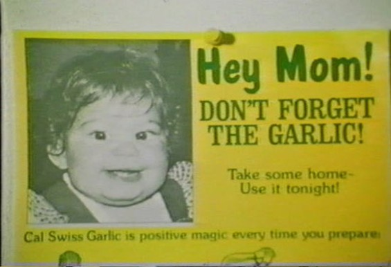 If this doesn't make you want to see Garlic Is As Good As Ten Mothers, we don't know what will.