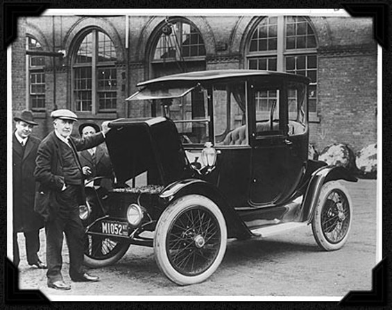 If you've got a Thomas Edison-model electric car, like this one from 1913, it's your lucky day...