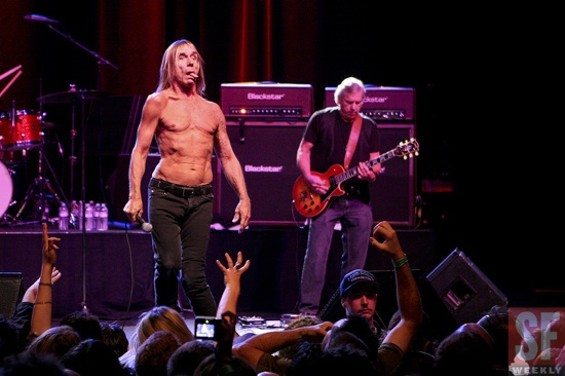Iggy Pop, class clown. - CHRISTOPHER VICTORIO
