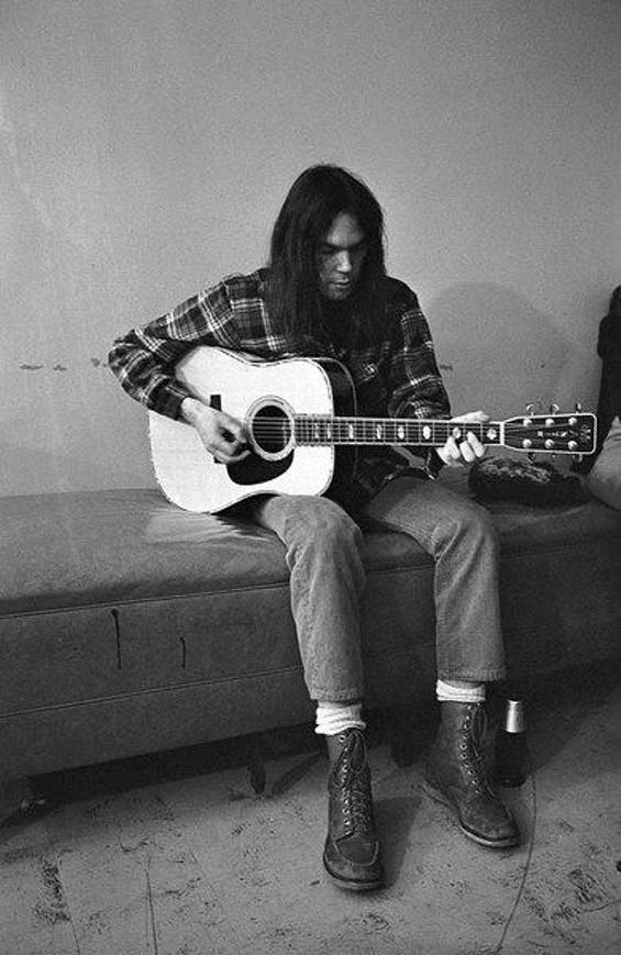 I'm Neil Young, biatch!