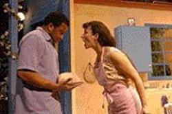 DAVID  ALLEN - I'm Not Hungry!: Marie (Jeri Lynn Cohen, - right) secretly loves Antoine (Joseph K. - McDowell).