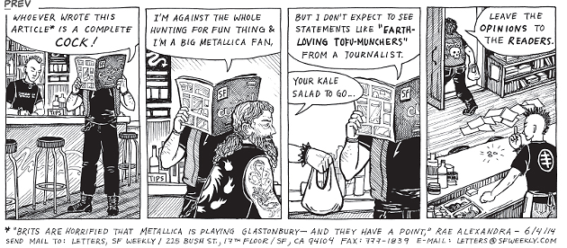 SF WEEKLY'S COMIC ISSUE
