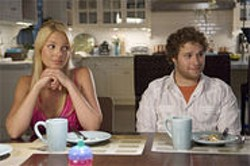 UNIVERSAL PICTURES - In director Judd Apatow's world, Seth Rogan is leading-man material.