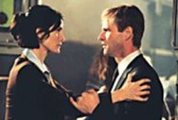 MELISSA  MOSELEY - In the Company of Trinity: Carrie-Anne - Moss and Aaron Eckhart.
