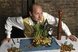 LAURIE GALLANT - In this one-man show, Sean Owens (above) explores the legacy of gentleman pirate Black Dick.