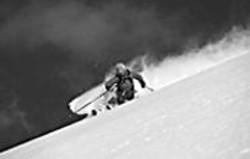 JOHN  SCHWIRTLICH - Ingrid Backstrom carves through Higher - Ground.
