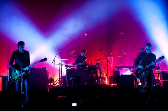 Interpol at the Warfield last night. - RICHARD HAICK