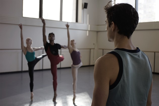 Justin Peck in Ballet 422 - MAGNOLIA PICTURES