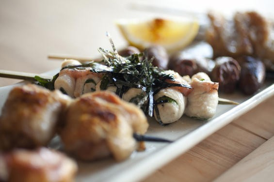 Ippuku's yakitori: totally on the list. - LARA HATA