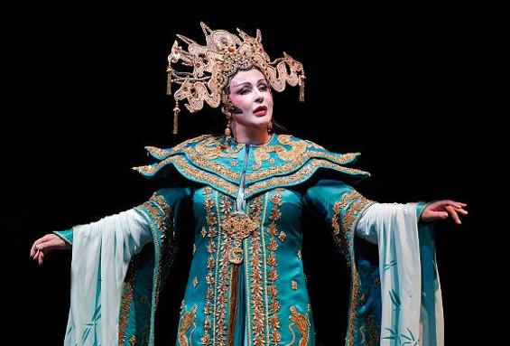 Iréne Theorin as Turandot - CORY WEAVER