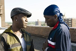 Is that Wesley Snipes? Holy shit, it is! Yo, Wesley!