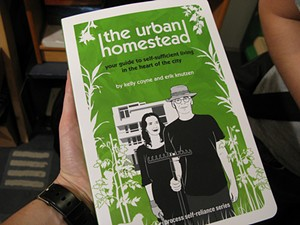 """Is this book ― published in June 2008 ― evidence that the Dervaes family's claim to the term """"urban homesteading"""" is full of shit? - SHIRA GOLDING/FLICKR"""