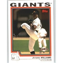 It turns out Jerome Williams pronounces his name like everyone else named Jerome. That's news to the Giants.