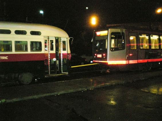 It's not rapid, but it is transit