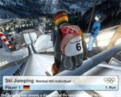 """It's only fun when he goes windmilling off the jump like that """"agony of defeat"""" guy."""