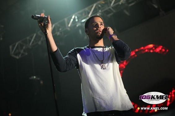 "J. Cole leads a ""Power Trip"" through his hits. - KMEL"