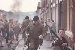Jack O'Connell stars as an English soldier left to fend for himself on the streets of Belfast in Yann Demange's  '71. The film is part of the Mostly British Film Festival, which kicks off Thursday.